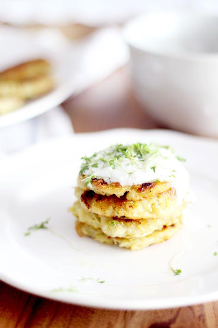 Vegane Zucchini Rösti