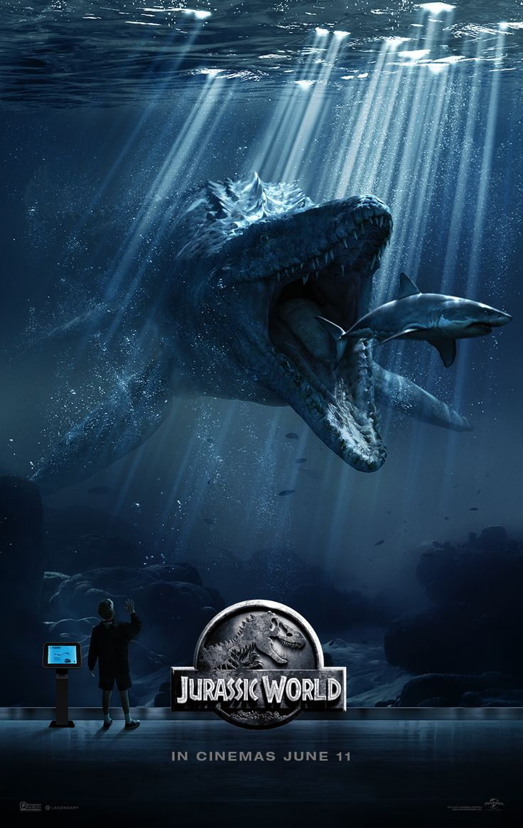 Jurrasic World - Something big is just around the corner. Can't wait for the prescreen on this one - everyone wants to go now!!! Yay!! Opens June 12th