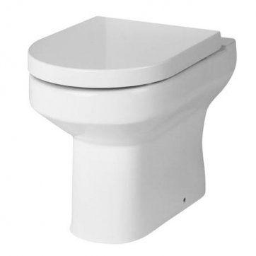 Fontego Back to Wall D shaped [PT-MON003] - £109.99 : Platinum Taps & Bathrooms