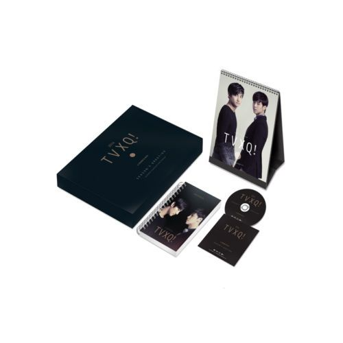 [2014 K-POP Season Greeting] TVXQ! Idol Memorable (Table Calendar+Scheduler+DVD)