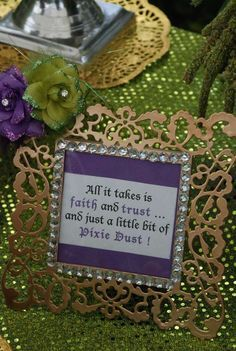 Pixie Fairy Birthday Party Ideas | Photo 1 of 45 | Catch My Party