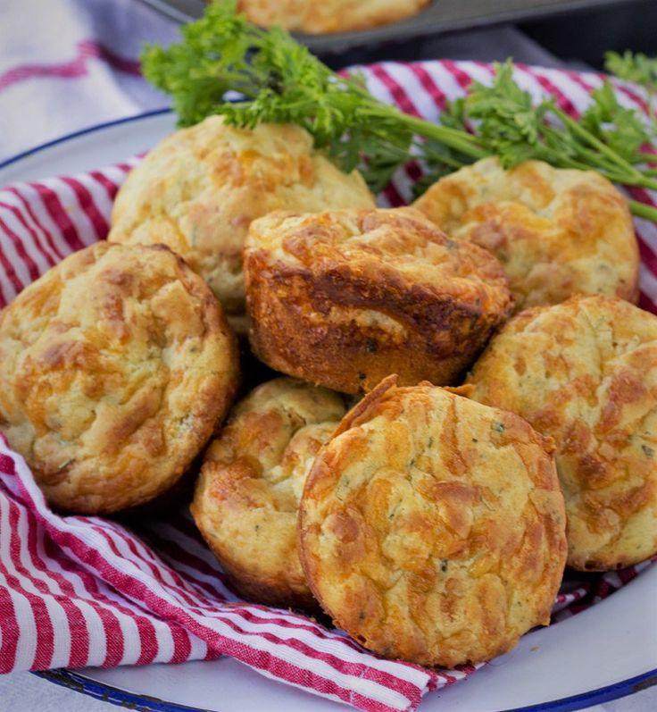 Çedar Peynirli Muffin