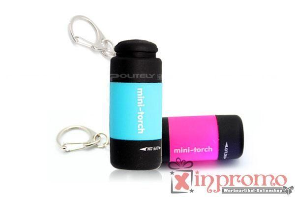 Werbeartikel LED Schlüsselanhänger mit Ihrem Logo bedruckt - Werbeartikel Grosshandel | Werbeartikel bedrucken | Grünstige Werbemittel