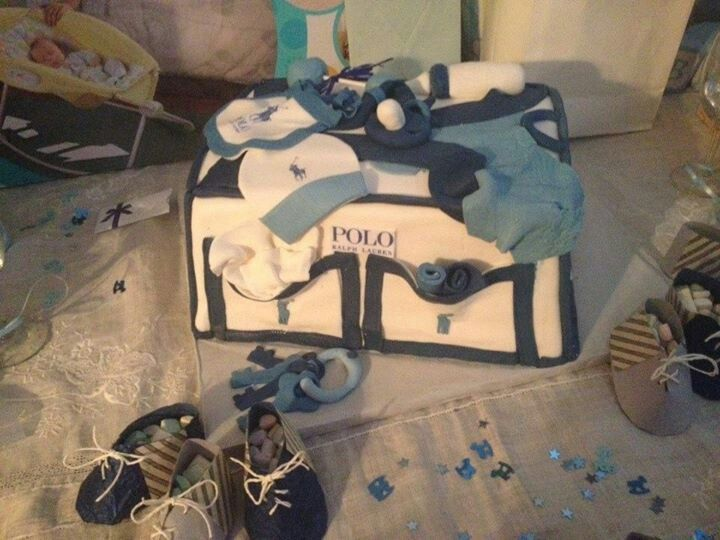 Polo Baby Bag Sensational Cakes By Yaya In 2018 Pinterest Shower For Boys And
