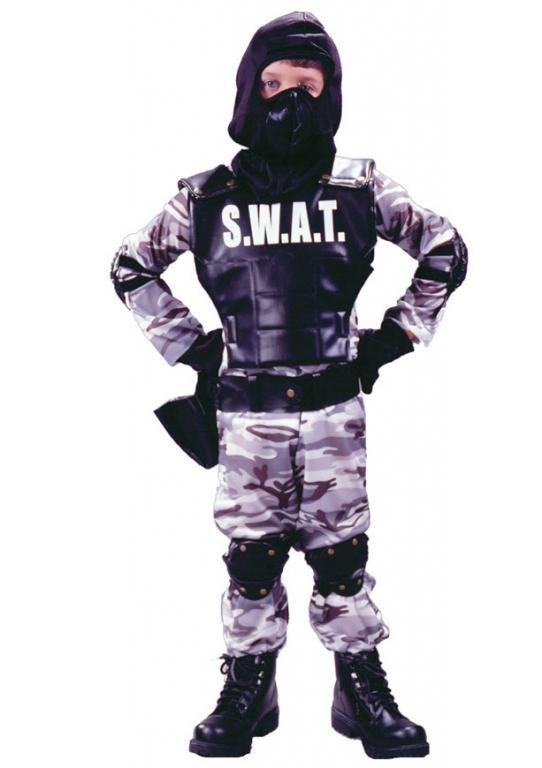 Unisex SWAT Costume