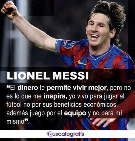 Frases de fútbol Leo Messi