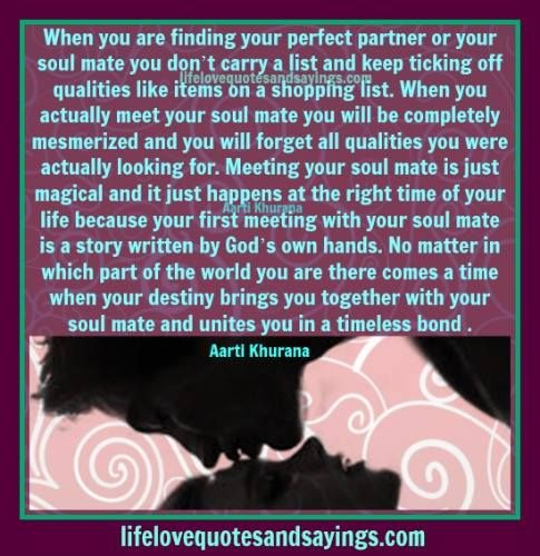 finding love mate The true love spells are so effective that soon you will be starring into your soulmate's eyes thinking that you should have once you find your soulmate.
