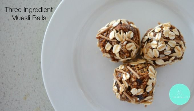 Three Ingredient Muesli Balls Thermobliss