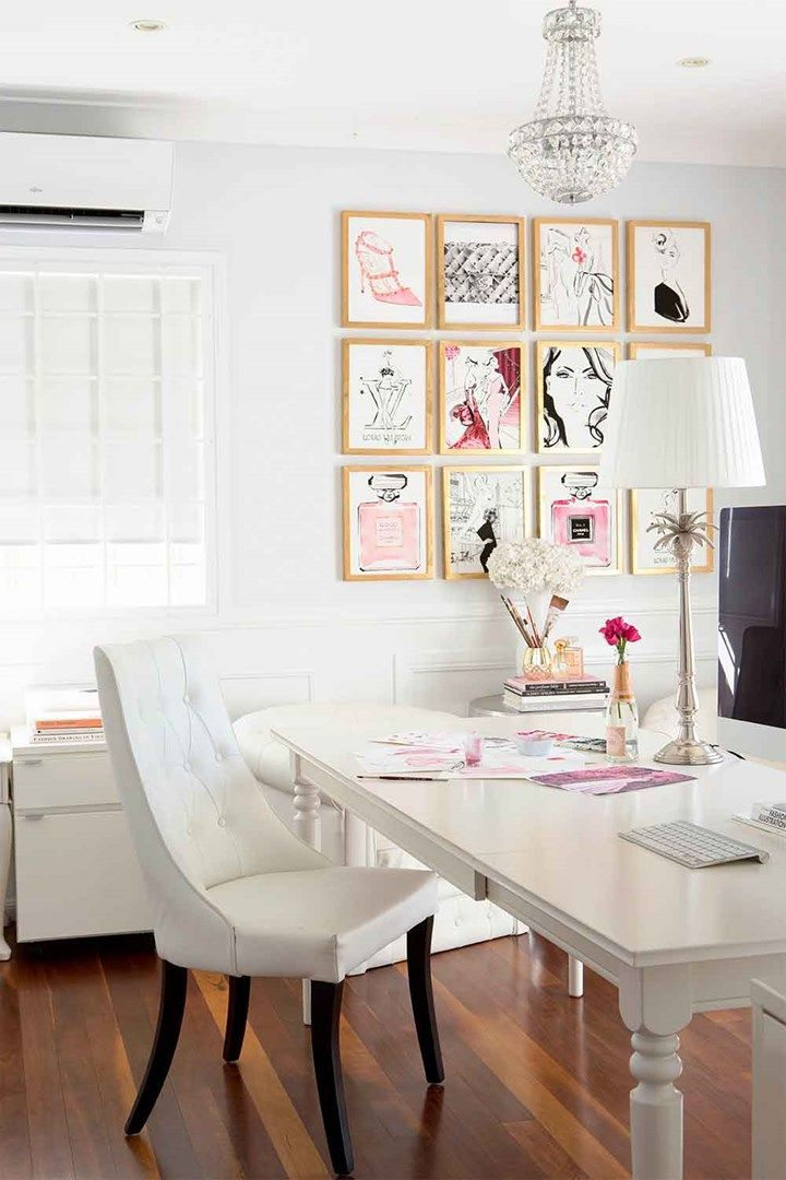 Five ways to a fabulous feature wall | Home office | Home Beautiful magazine