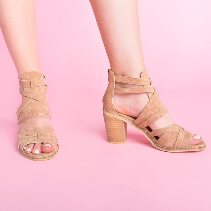Tangle Dress Sandal - Rose