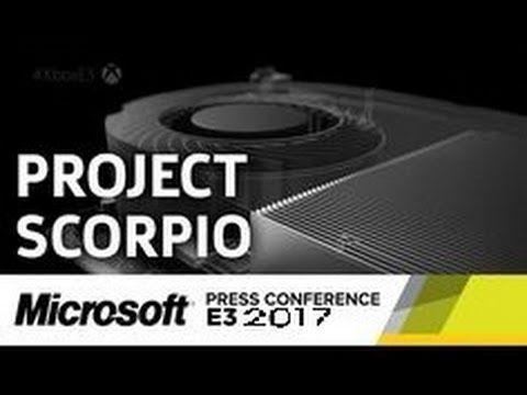 Xbox One SCORPIO Reveal Before E3 Crackdown 3 & Phantom Dust Updates  Xb...