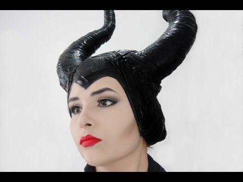 DIY♥Como hacer los Cuernos de Malefica♥Maleficent Horns - YouTube