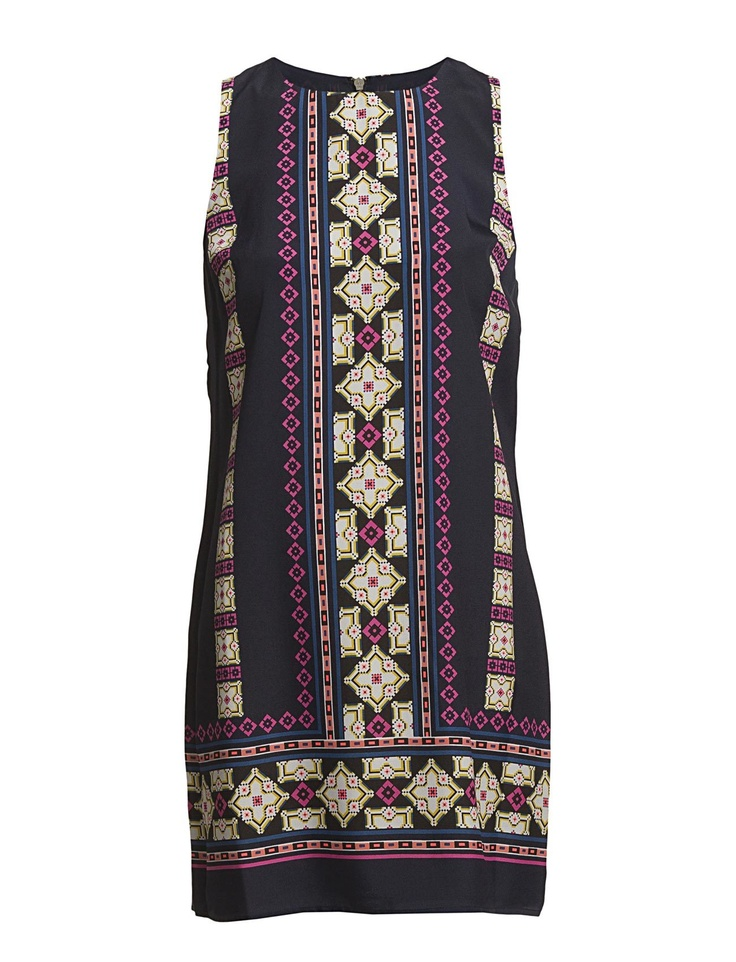 Oasis Oasis Mexicana Placement Shift Dress