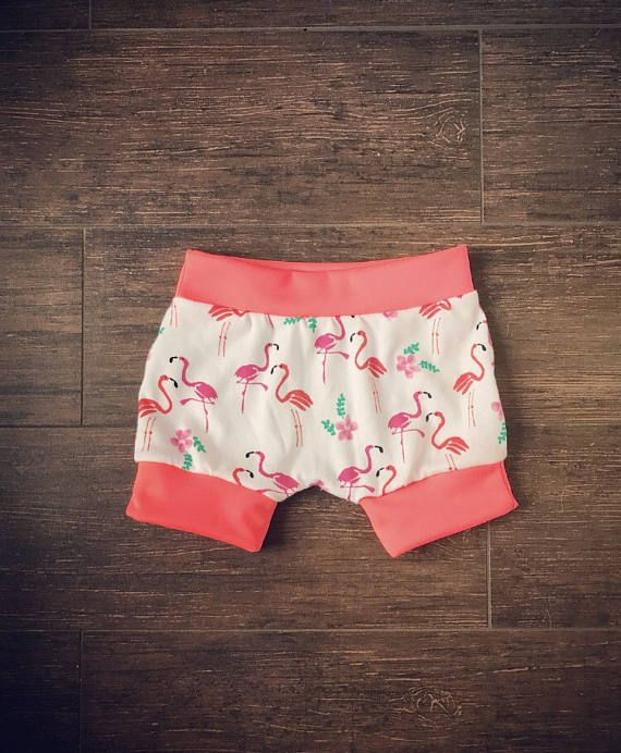 I just ordered these for my little! Sooooo cute for summer!!  Flamingo Harem Shorties