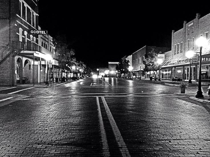Downtown Nacogdoches, TX.