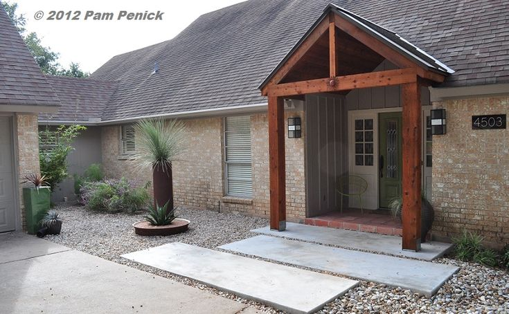 17 best images about ranch entry on pinterest the brick Front porch without roof
