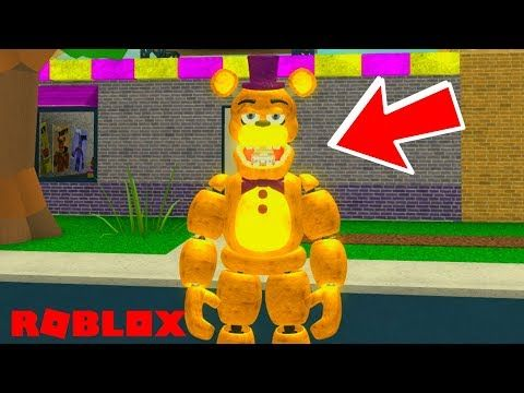 MUST PLAY!* Awesome New Roblox FNAF Game! Roblox Fredbear