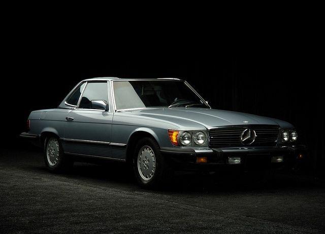 Mercedes-Benz 450SL US-spec (R107)