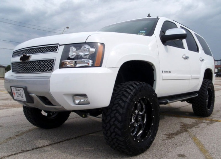 Lifted Suburban For Sale >> Lifted Tahoe - this is sitting in my driveway finally ...
