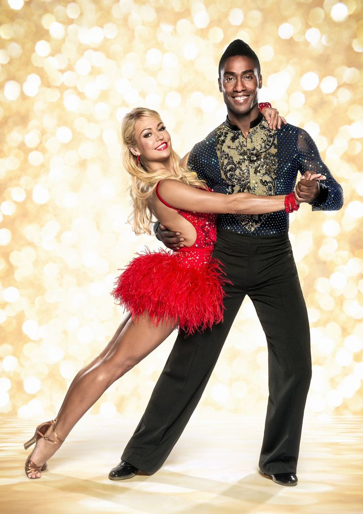Kristina Rhianoff and simon Webbe