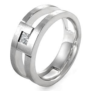Industrial Mens Engagement Ring