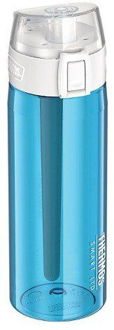 Gorgeous Water Bottles For Every Sport, Class, and Gym Activity Thermos Connected Hydration Bottle With Smart Lid Teal