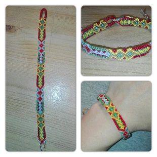 Photo of #3073 by keiko44 - friendship-bracelets.net