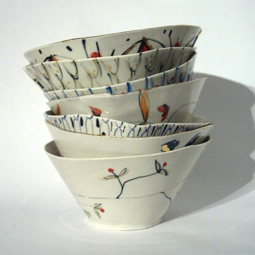 Just fallen in love with Alice Garland's beautiful, pretty ceramics #bowl #ceramics
