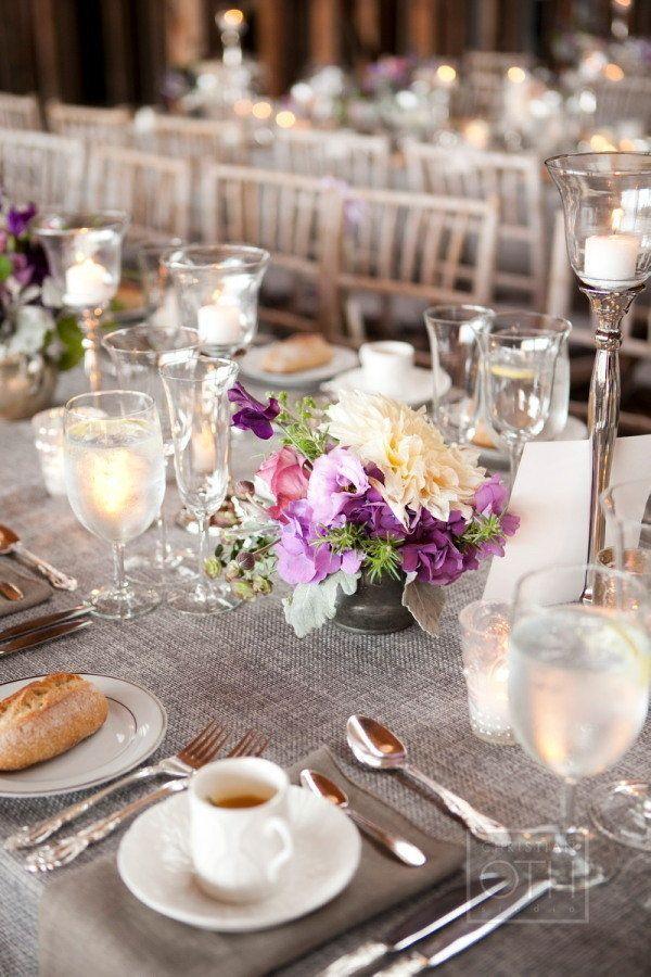 gray linen | christian oth photography + matthew robbins floral