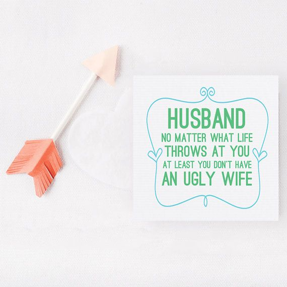 Funny Husband CardHusband You Don't Have By