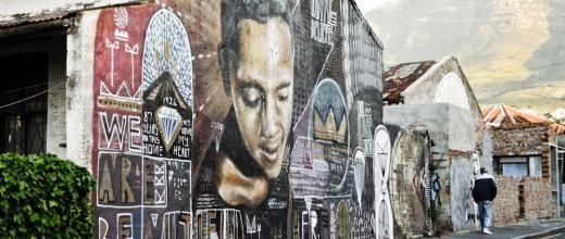 Welcome to Woodstock, a Cape Town neighbourhood beautified by street art