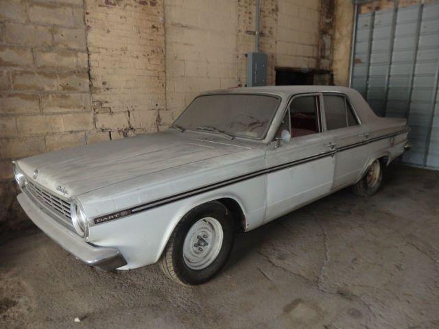 1965 Dodge Dart 270 Sedan Barn Find 225 6 Cyl 145hp For Sale Photos