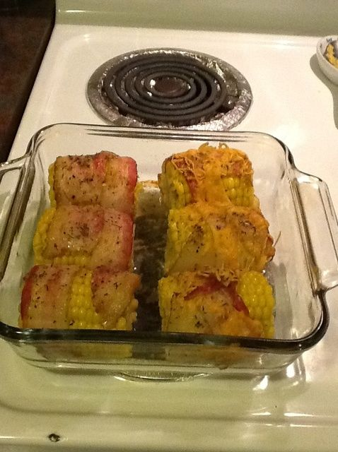 How to Cook Bacon Wrapped Corn on the Cob! Recipe