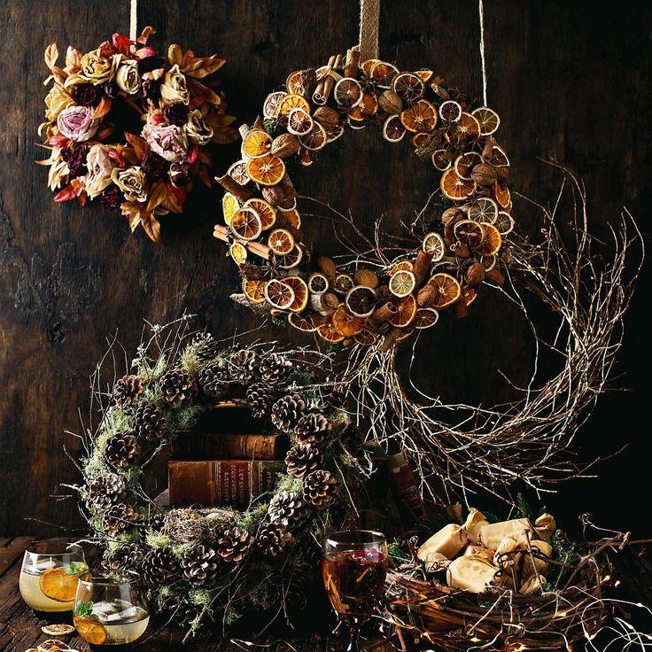 #DIY #DIYwreath #driedfruit #DIYchristmas