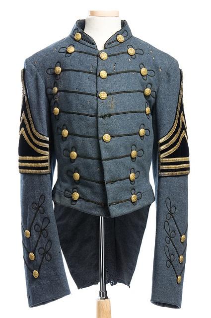 Citadel uniform coat, 1886 by Charleston Museum, via Flickr