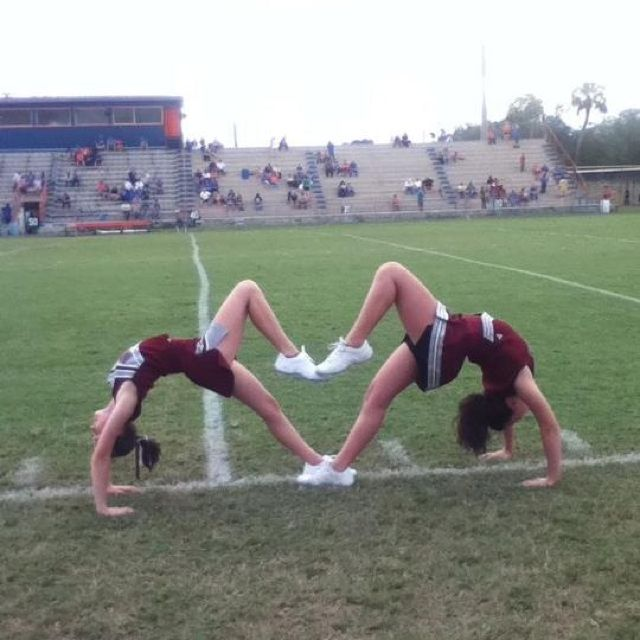 I need to do this with my bestfriend Amber when we get our uniforms :)