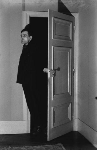 Antonin Artaud photographed in 1930 by Eli Lotar.