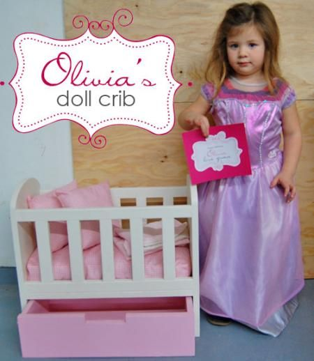 Wooden Baby Doll Crib Plans - WoodWorking Projects & Plans