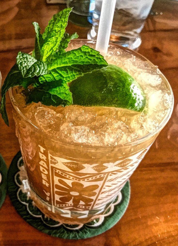 Mai Tai Wikipedia Coconut Rum Dark Rum Cocktails Rum Cocktail
