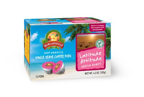Margaritaville Coffee Latitude Attitude. Medium Roast. You've reached that perfect spot and are enjoying our blend of rich South American coffees - the ultimate in Latitude and Attitude.