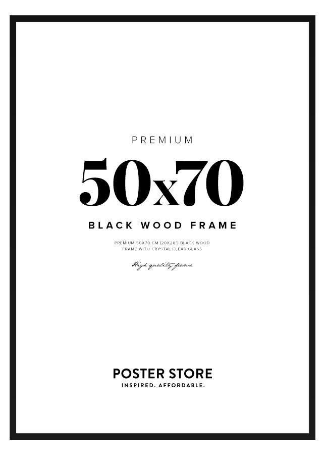 Black Wood Frame 50x70 Cm Shop Black Frames Online Posterstore Co Uk In 2020 Rose Gold Picture Frame Oak Picture Frames Copper Frame