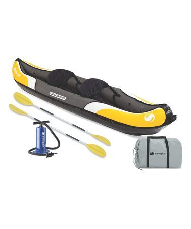 This Colorado Two-Person Kayak Set is perfect! #zulilyfinds