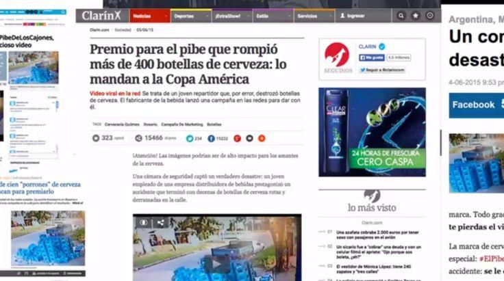 """Case: #TheDudeWithTheCrates  アルゼンチンで最大のビール醸造所・キルメスが、""""従業員のミス""""に対して取ったユニークで心温まるSNSでの対応をご紹介。      #TheDu"""