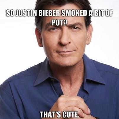 So Justin Beiber smoked some pot