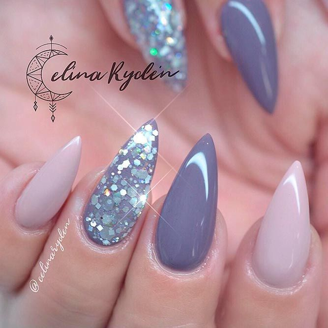 Stilleto Nail Ideas For Prom: Best 25+ Plain Nails Ideas On Pinterest