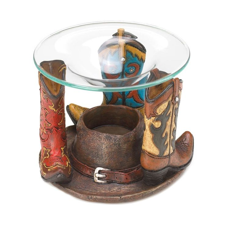 Eastwind Gifts 10016204 Cowboy Boots Oil Warmer ** Insider's special offer that you can't miss : Home Fragrance