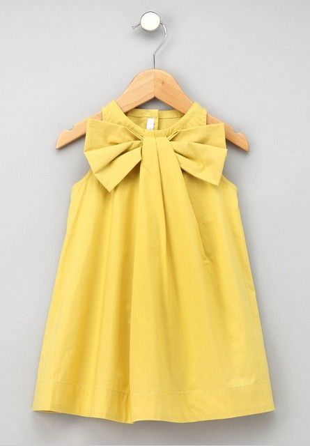 Precious little girls bow dress. Tutorial. by kendra