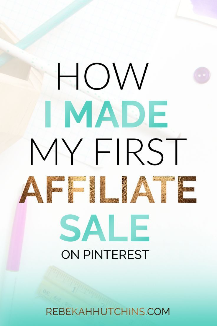 Check out these affiliate marketing tips for beginners who want to make money online. Learn about programs you can join and how you can make passive income by pinning your affiliate links on Pinterest. If you're a blogger or online business owner interest