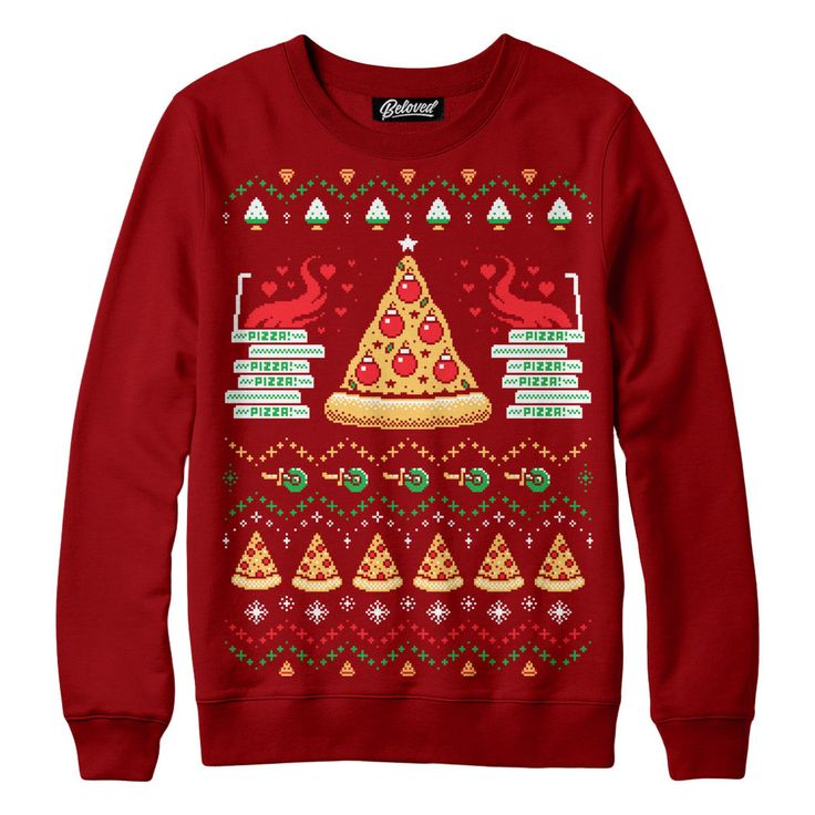 $59 Pizza Holiday Sweatshirt