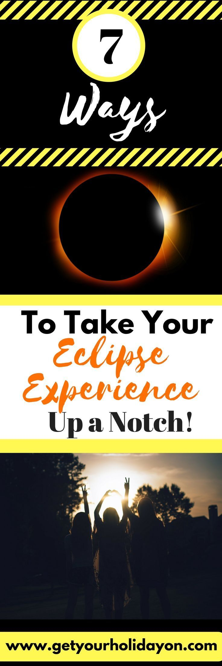 On August 21, 2017, the sun will disappear behind the moon creating what is called a Solar Eclipse. Imagine the moment filled with excitement and extra fun! Check out these ideas to make your Eclipse Experience Extra fun!